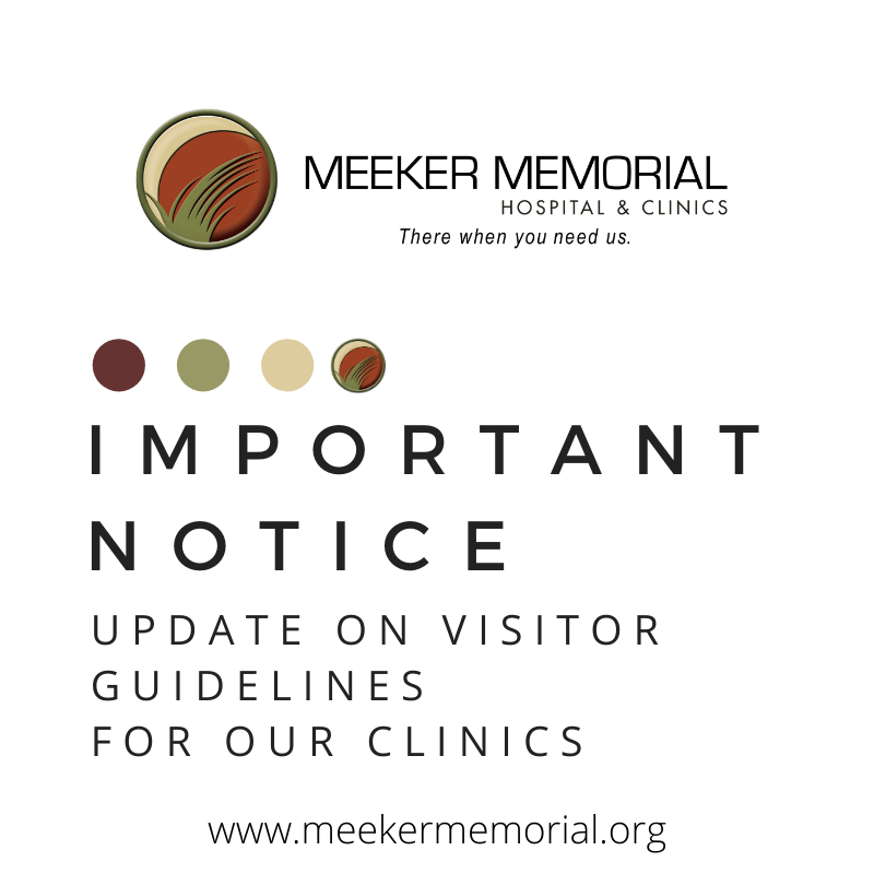 Update on Visitor Guidelines for our Clinics (Litchfield & Dassel)